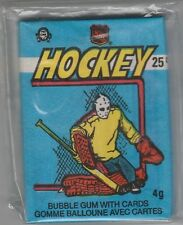 1982 83 O Pee Chee UNOPENED Wax Pack Ron Francis Grant Fuhr Hawerchuk RC Gretzky