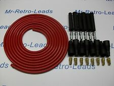 IGNITION LEAD KIT IN 8MM HIGH PERFORMANCE RED CABLE FOR THE 6 CLY  4 METERS HT