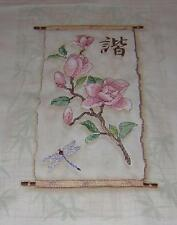 "Dimensions FORAL SCROLL 3203 STAMPED CROSS STITCH KIT KIT 10"" X 16"""