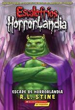 Escalofríos Horrorlandia Ser.: Escape de Horrorlandia 11 by R. L. Stine...