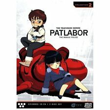 Patlabor - The Mobile Police: The Television Series, Collection 2 New DVD 13-24