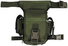 MFH Marsupio militare aggancio gamba sicurezza HIP BAG Security 30701B
