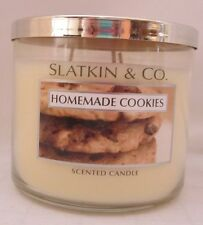 Bath & and Body Works Home 14.5 oz scented Candle 3 Wick Homemade Cookies