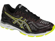 ASICS NEW IN BOX MENS GEL-KAYANO 23 LS RIOJA RED/BLACK/SULPHUR SIZE 7 M $180+