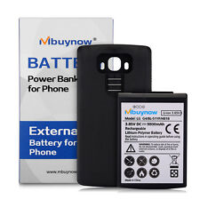 New 9800mAh Extended Battery with Black Case Cover for LG G4 BL-51YF H818