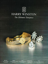 PUBLICITE ADVERTISING 124  1995  HARRY WINSTON  joaillier