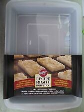 "Recipe Right Covered Cake Pan 13"" x 9""  2105-962  NEW"