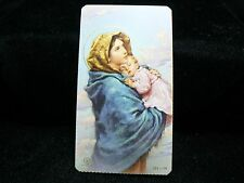 """VINTAGE  """"OUR LADY OF THE STREETS"""" HOLY CARD"""
