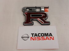 GENUINE Nissan OEM Trunk Emblem Badge R34 Skyline GTR JDM New 84896-AA400