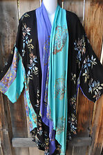 MISSION CANYON ART TO WEAR 50 LONG KIMONO DUSTER IN NOTHING MATCHES KONA, OS+!