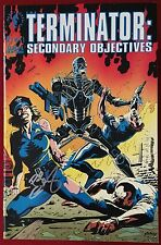 The Terminator: Secondary Objectives #2 - Signed By Paul Gulacy - Dark Horse