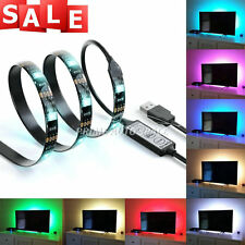 LED Home Theater TV BackLight Accent RGB Multi-Color-Changing Strip Lighting Kit