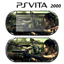 Vinyl Decal Skin Sticker for Sony PS Vita Slim 2000 Resident Evil 2