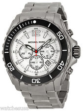 Michael Kors Men's Chronograph Titanium Stainless Steel Bracelet Watch MK8230