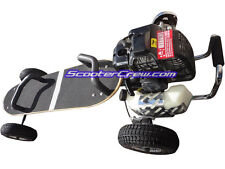 ScooterX SkaterX 49cc Gas Petrol Mountain Skate Board Land Surfer Surfing Sail