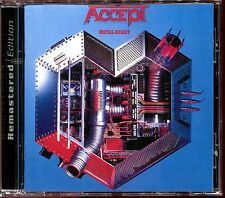 ACCEPT - METAL HEART - REMASTERED EDITION CD ALBUM [1238]