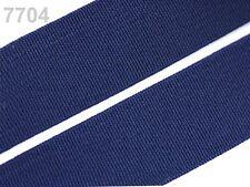 2 METER Gummiband Gummibänder Band  20 mm  dunkelblau NEU (Grundpreis: 1,30€/m)