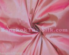 PINK SHOT GOLD 2TONE TAFFETA FAUX SILK FABRIC BRIDESMAID DRESS DRAPE CRAFT BTY