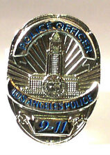 LA POLICE 911 PIN BADGE NEW