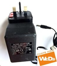 AC/DC POWER ADAPTER D41WI120300-13/1 12V 300mA UK PLUG