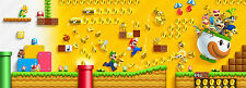Super Mario Bros Characters Giant 1 Piece Poster - Largest on eBay 168cm x 86cm