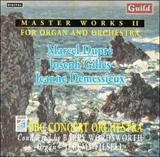 Master Works II 2 For Organ and Orchestra CD Guild BBC Concert Jeremy Filsell