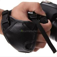 DSLR Camera Leather Grip Wrist Hand Strap Universal for Canon Nikon Sony Pentax