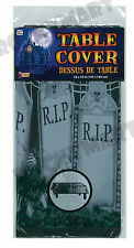 """Plastic GRAVEYARD Table Cover 54 x 72"""""""