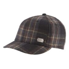 New With Tags Coal Mens The Preston Baseball Hat Adjustable Strap Brown Plaid