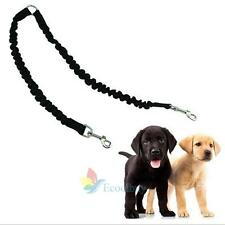Two Way Dog Coupler Lead/Leash Splitter strong rubber Rope Twin/Double Walk  A