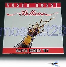 "VASCO ROSSI ""BOLLICINE SAFFA REMIX '07"" RARO 12"" MIX - MINT"