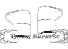 2007-2009 Toyota Tundra Tail Light Taillights Chrome Guards Covers
