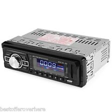 Hot Car Radio 12V Auto Audio Stereo FM SD MP3 Player AUX USB with Remote Control