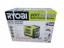 """SUPER QUIET"" RYOBI RYI2200 GENERATOR INVERTER as quiet as a conversation"