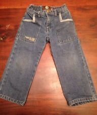 TIMBERLAND 3T Boy Toddler Blue Jeans Pants Kid