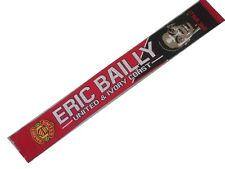ERIC BAILLEY SCARF. MAN UNITED SCARVES. MAN UTD SCARF