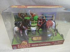 Lanard ® 3 Pferde mit Zubehör Größe ca. 8 cm Triple Crown 85023  Neu + OVP