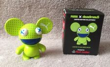 GREEN PUMA FOOTLOCKER DEADMAU5 Ltd Edit Collectible Mini Figure RARE & DELETED