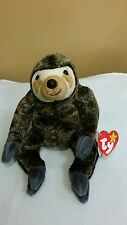 Ty Beanie Baby SLOWPOKE the SLOTH 1999 with flat tush tag Mint, Retired & New