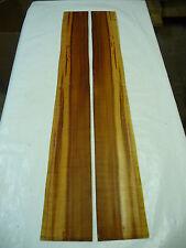 Zwetschgenholz Zargen, Tonholz; 100x12x0,5cm; Artnr 58; 1 Paar