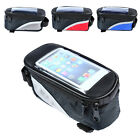 Cool Bicycle Cycling Bike Front Tube Waterproof  Mobile Phone Bag Holder Hot