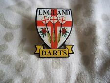 darts pin for the ENGLAND EDO  the offical pin badge