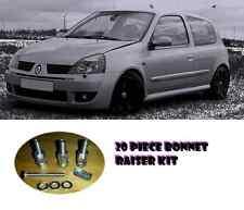 Renault Clio Bonnet Raisers 20 Piece Set Lifters 172 182 197 V6