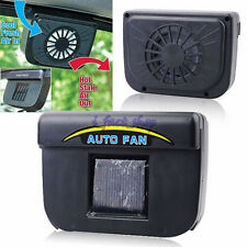 Solar Powered Window Vent Fan Cooler For Car Auto Vehicle Ventilator Air Cooling