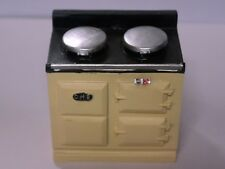 Cream Resin Aga Style Stove, Dolls House Miniatures, Kitchen, Furniture,