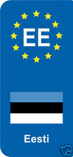 2 Stickers Europe EE Eesti