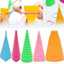 HOT 5pcs/Set Paper Quilling Bobbin Towers Tool Quilled Creation Paper Crafts DIY