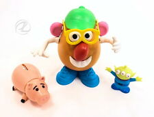 Mr. Potato Head Toy Story Characters Hamm Piggy Bank Alien Disney SET of Three