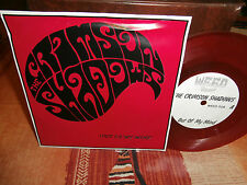 "the crimson shadows""what i want""""single7""or.fr.weed:008.de 1985 vinyl rouge"