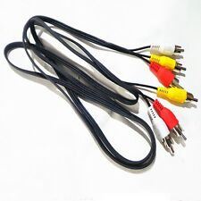 Audio Cable 1m New For HDTV DVD Cord Male To Male AV Video 3 RCA To 3 RCA